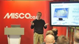 Misco Expo - Ian Moyse Presenting on Cloud 2012
