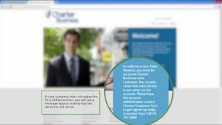 Charter Business Portal - Business Support